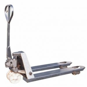 Wide Galvanised Pallet Truck