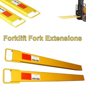 "6"" Forklift Fork Extensions (96"" Reach)"
