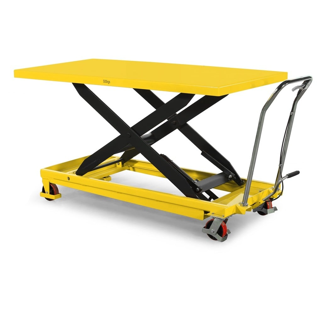 Extra large lift table