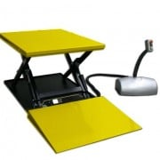 HTF-G 1000kg Static Electric Lift Table With Ramp