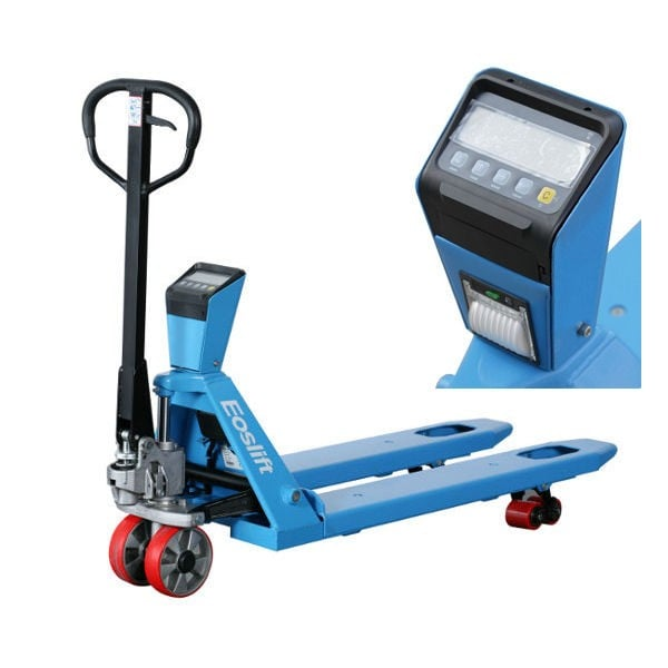 Weigh Scale Pallet Truck With Printer