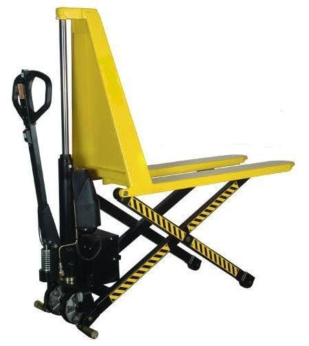 Wide Electric High Lift Pallet Truck