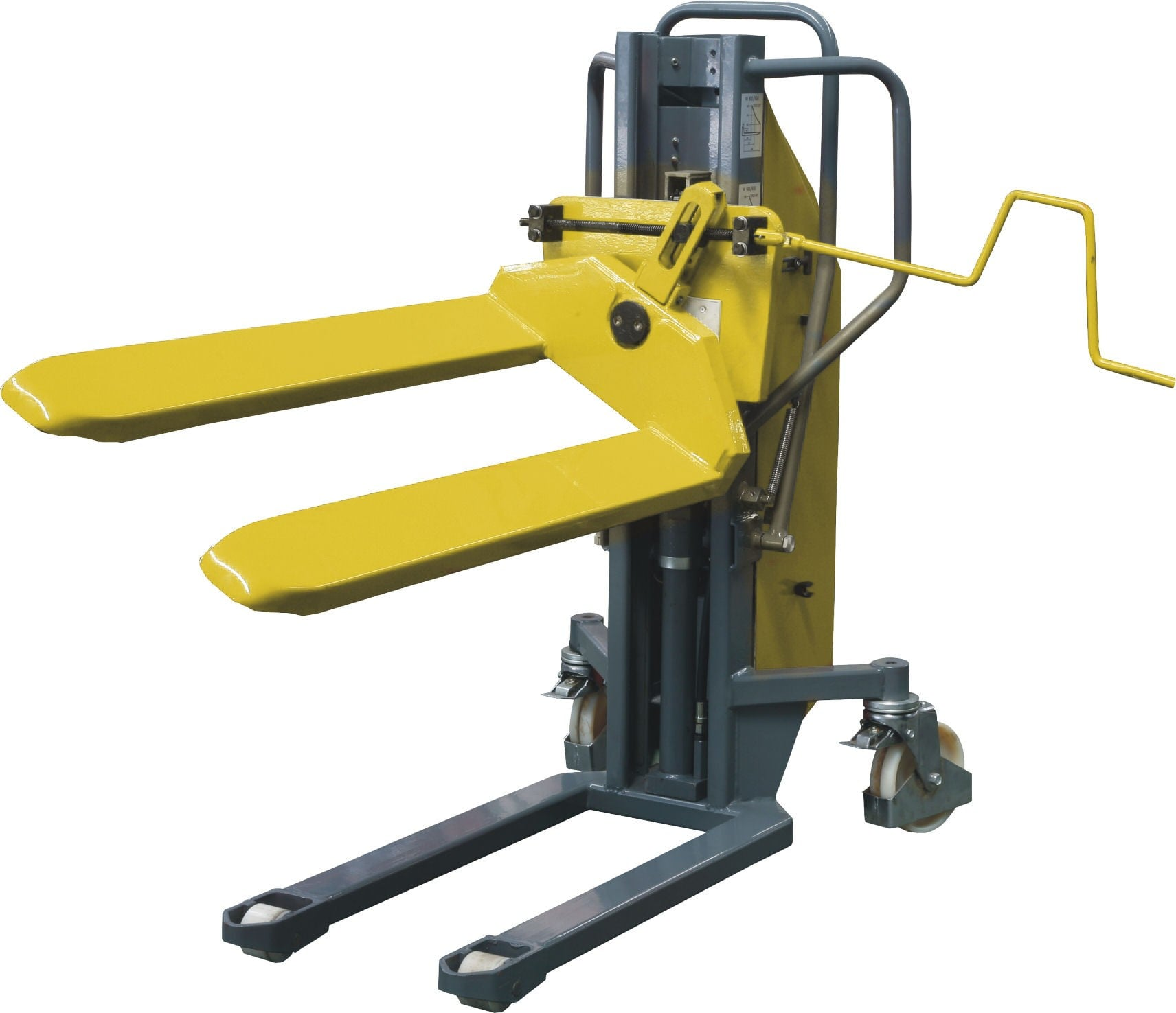 Ehst0809 Semi Electric High Lift Pallet Truck With Tilting