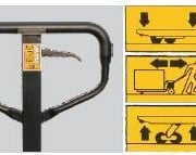 Easy Roller Pallet Truck 2500kg 540×1150
