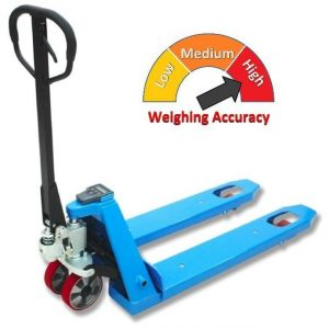 Wider Weigh Scale Pallet Truck 2000kg/1kg