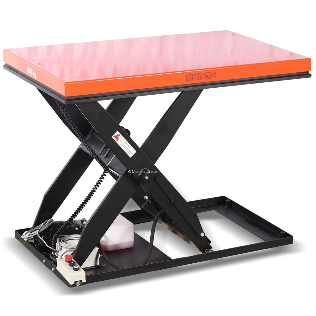 1500kg Static Scissor Lift Platform Elf15a 36x48: motorized table